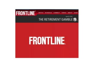 frontline retirement gmble