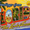 Florida old time postcard 2