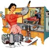 housewife vintage
