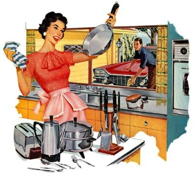 housewife vintage