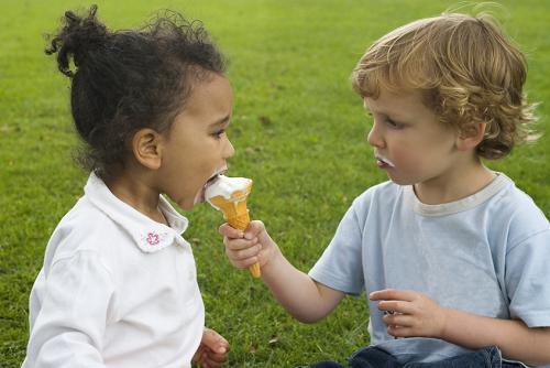 sharing-ice cream