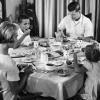 Dinner table 1960s