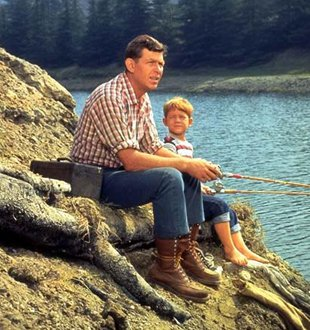 Andy Opie fishing