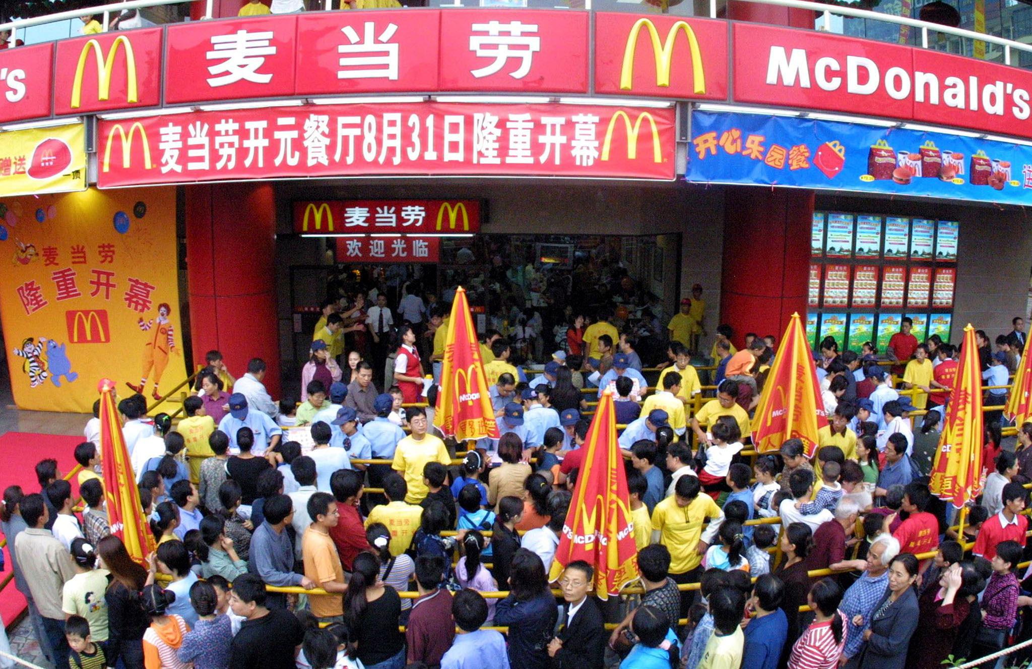 Resultado de imagen para mcdonalds photos queau china