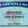 social security john q publc