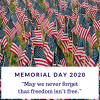 Memorial Day 2020 with square margin