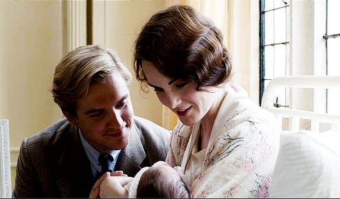 downton matthew and mary