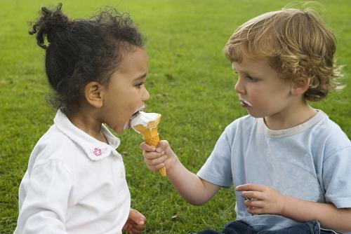 sharing-ice cream