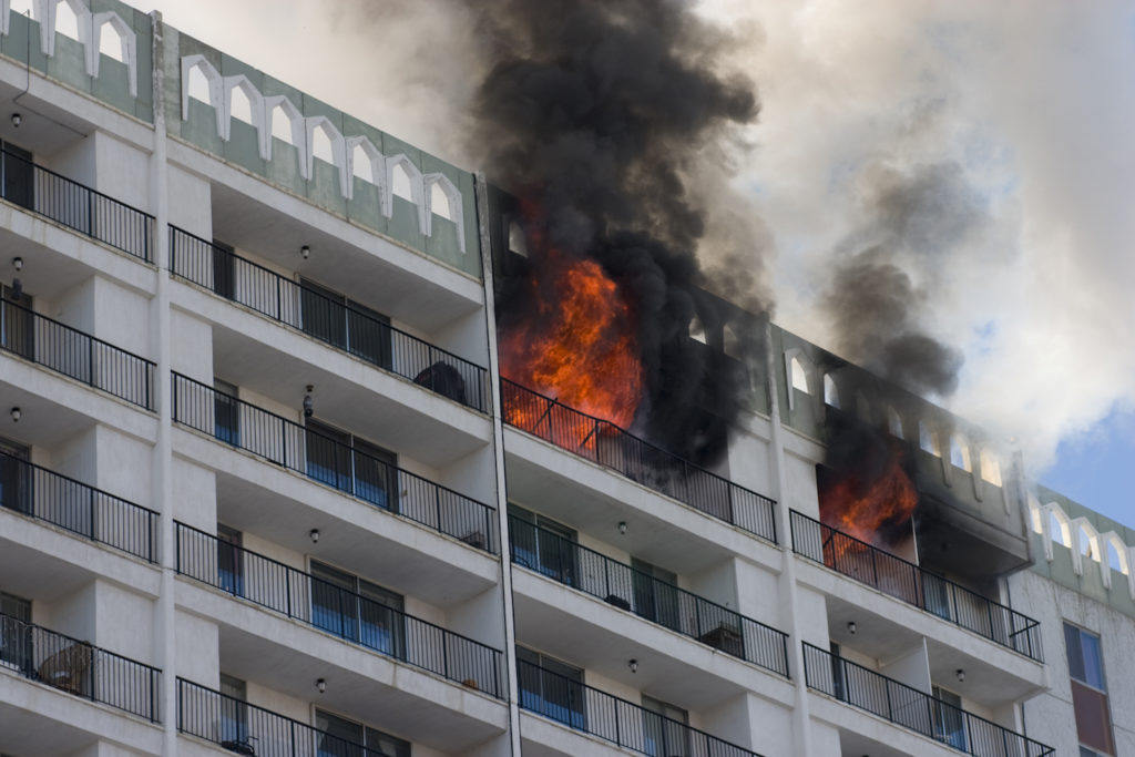 Older Parents Living In High Rise Brush Up On Fire Safety