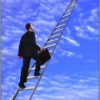 ladder man climbing crop
